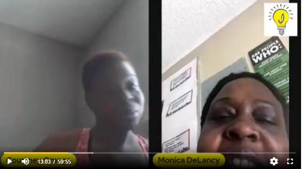 colored conversation with eviction relief expert Monica DeLancy